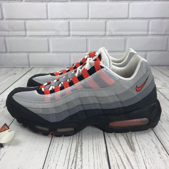 43aa4476a99e Nike Air Max 95 Orange 11 Men s 609048-184. M 5bd5ba394ab6330d938263e7.  Other Shoes ...